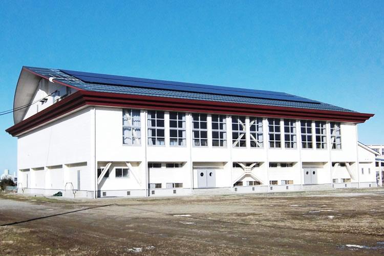 世紀小学校発電所/鳥取市(容量 27.5kW)